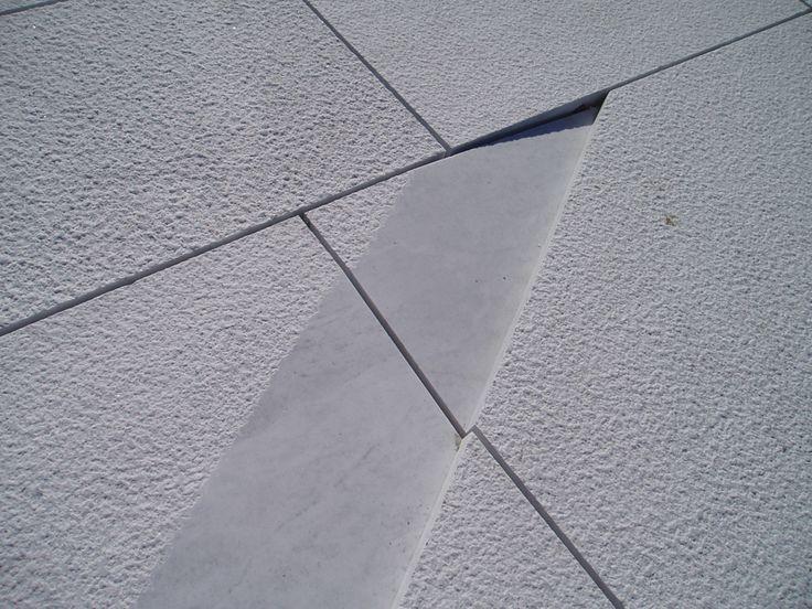 Pavimento en Opera House de Oslo - Snøhetta  - Mármol de Carrara