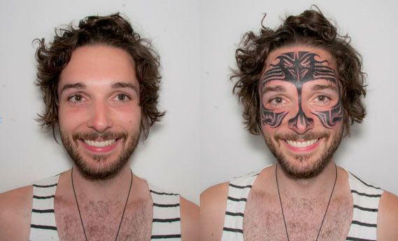I Had a Face Tattoo for a Week   VICE United States