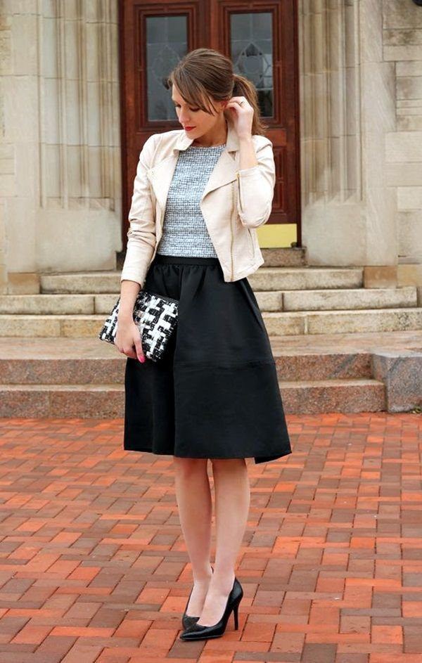Non-Boring Work Outfits To Wear In Fall #fashion #officeoutfits #ironageoffice http://www.ironageoffice.com/