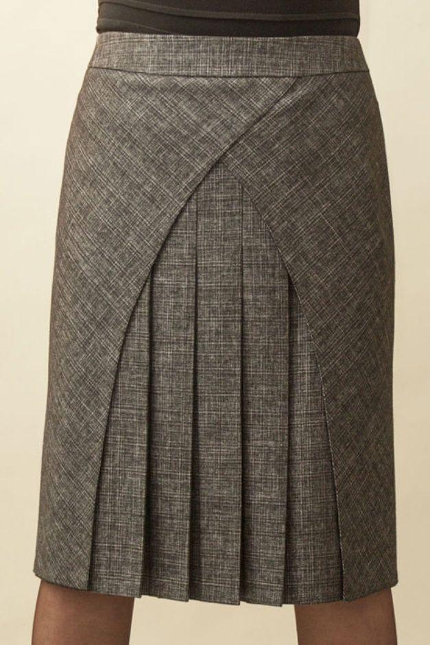 Patternmaking - interesting style lines - skirt pattern | Юбка юта 126, цена 700 руб. купить в Интернет-магазине