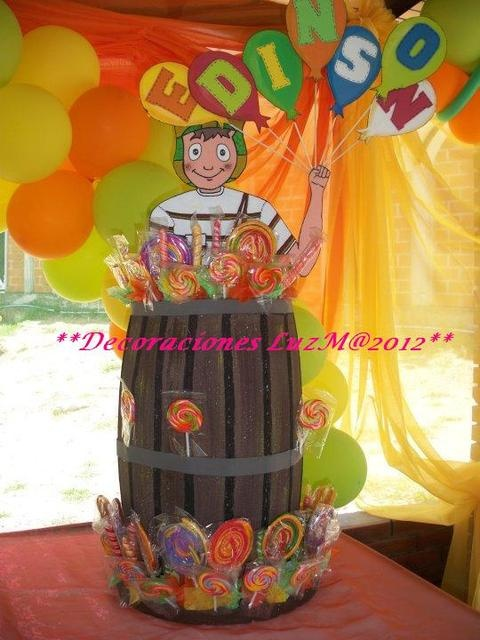 53 best images about el chavo birthday party on pinterest - Lozano decoraciones ...