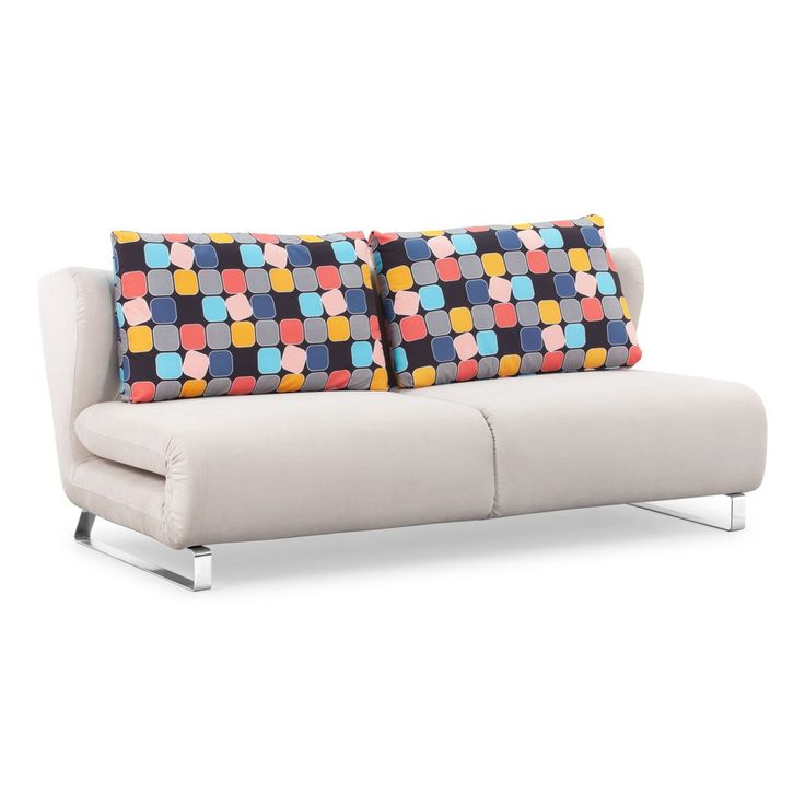Sofa Pillows  Conic Cement Grey Upholstery Sofa Sleeper Overstock Shopping Great Deals on Sofas