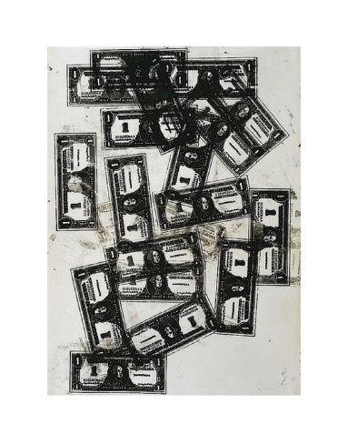 One Dollar Bills, c.1962By Andy Warhol – #Andy #bi…