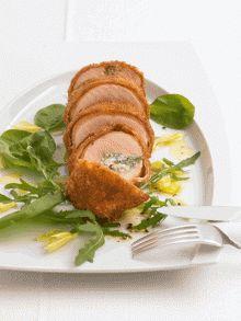 Finden Sie hier das Rezept zu Maishähnchen-Involtini mit Ziegenfrischkäse und Parmaschinken auf 321kochen.tv