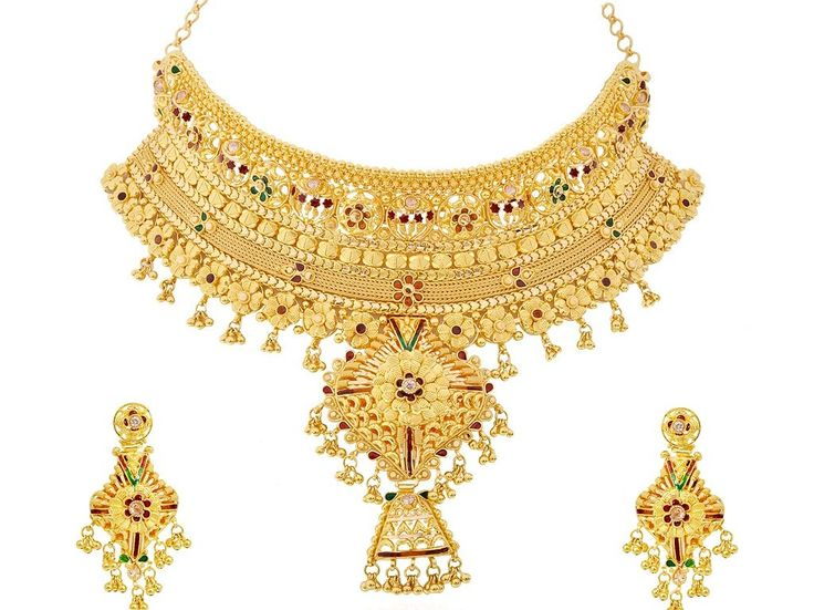 Classic Wedding Gold Necklace