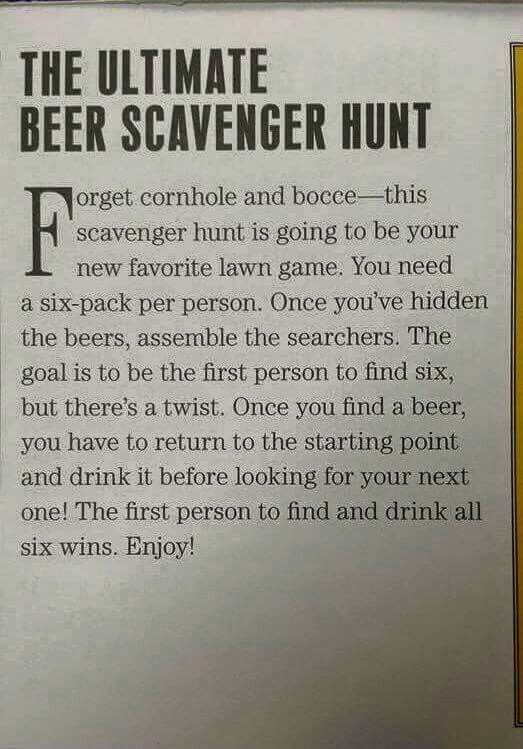 Such A Fun Game Idea For Adults Maybe Camping Or BBQ Would Do
