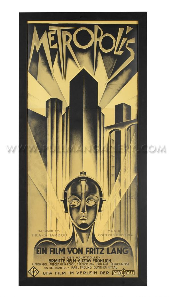 Art Deco Metropolis movie