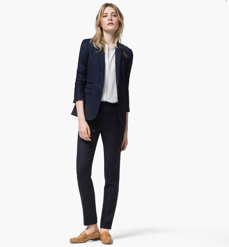 17 meilleures id es propos de blazer bleu marine femme sur pinterest blazers bleu marine t. Black Bedroom Furniture Sets. Home Design Ideas