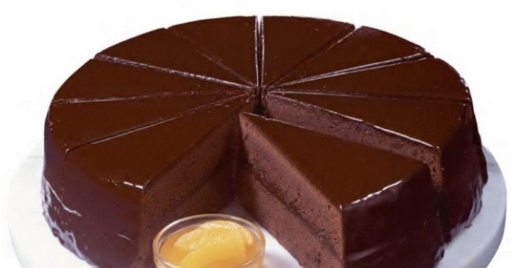 Ζάχερ, η πιο λαχταριστή βιενέζικη σοκολατότουρτα!