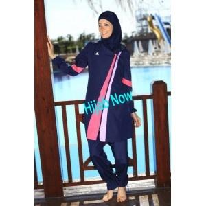 Modest swimwear can be used as sportswear too. From www.hijabnow.com