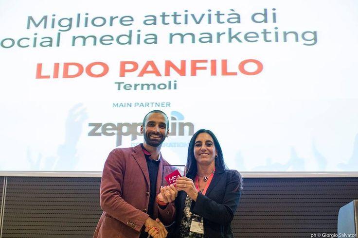 And The Winner is...Lido Panfilo! #hsa2015 #ilmoliseariccione