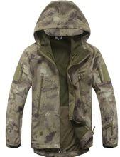 Engrenagem TAD Softshell Tático Camuflagem Homens Do Exército Esporte Ao Ar Livre Casaco Com Capuz Conjunto de Roupas roupas de caça Jaqueta Militar s(China (Mainland))