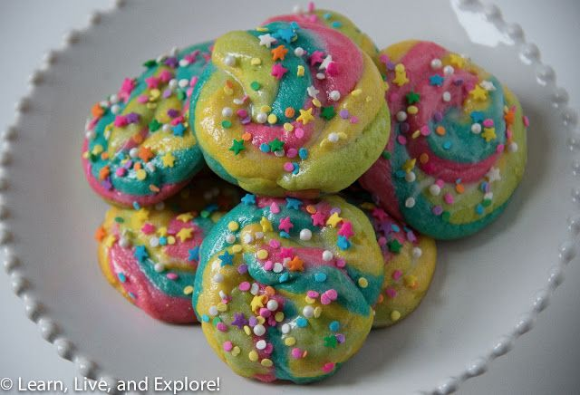 Unicorn Poop Cookies   Learn, Live, and Explore!