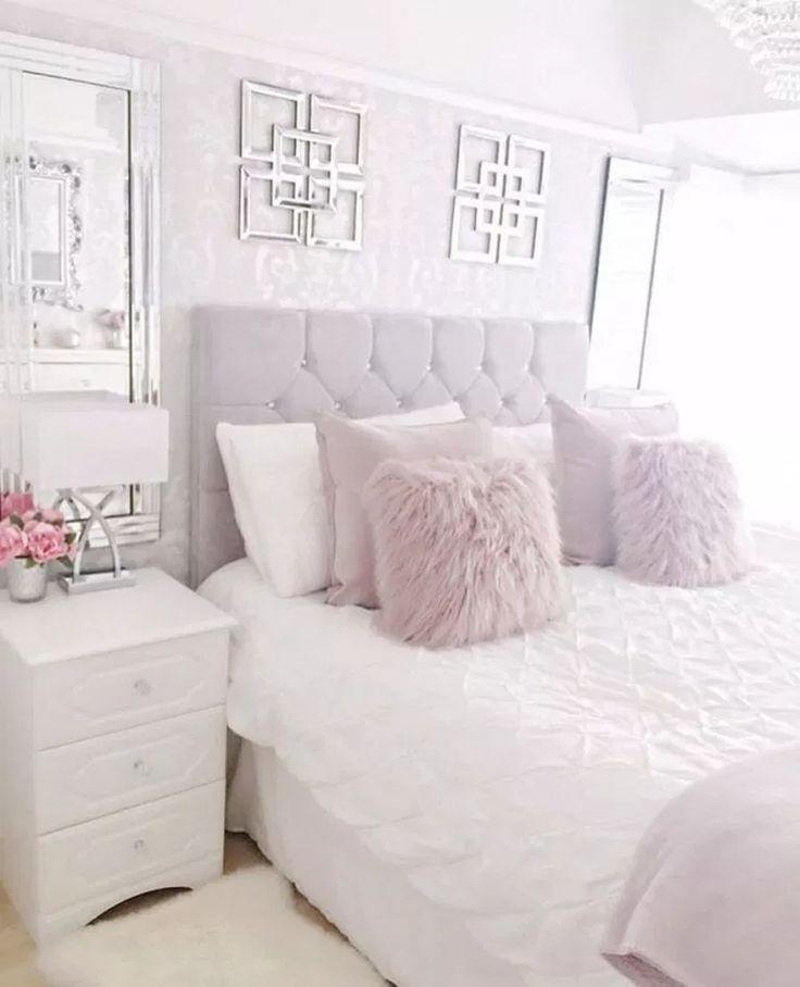 Cozy Home Decorating Ideas for Girls Bedroom #bedroomideas #bedroomdecor #girlbedroomideas » aesthetecurator.com
