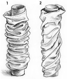 Drawing Folds Tutorial ( I learned how to draw of fabric when i was in Art college  i never had experience to draw but took class guess what now i end up artist. Everyone can do it! If u believe in yourself.....Cina)