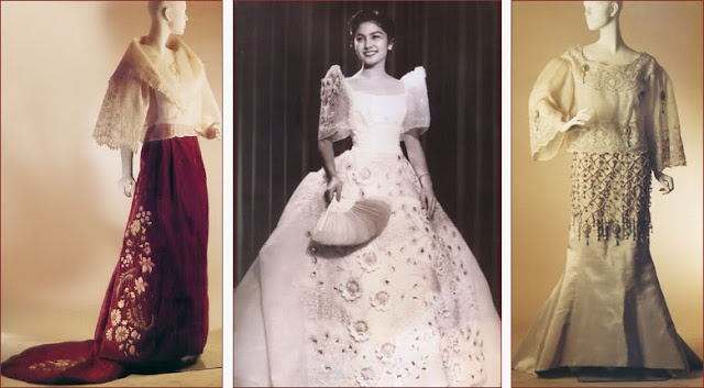 Modern Filipino Wedding Dresses : Maria clara terno and baro t saya filipiniana
