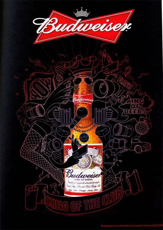 Cool Beer Ads #4 - Budweiser | Abduzeedo Design Inspiration & Tutorials