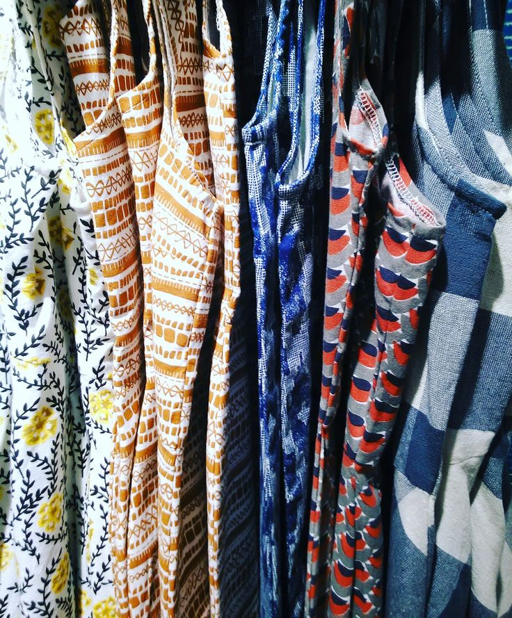 Spring collection of Mata Traders Fair Trade dresses.