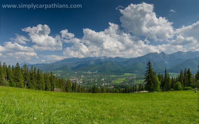 through geographer's eyes: Zakopane sightseeing: Gubalowka – the best view of Tatras