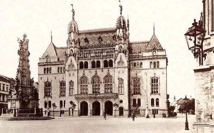 budapest 1890 | Budapest 1890s - Building of the Ministry of Finance in the Buda ...