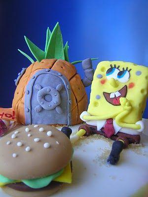 Le torte creative di Claudia Prati: Torta Sponge Bob