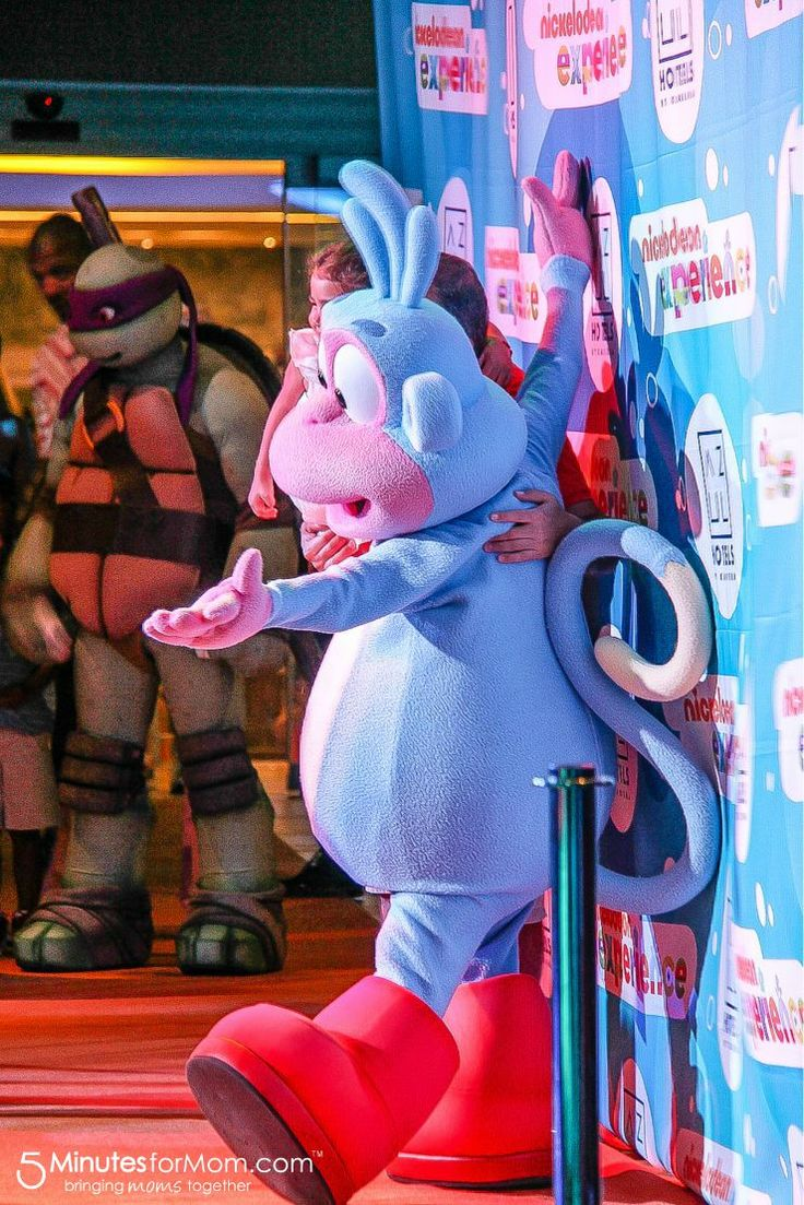 Orange Carpet Event - Meet the Nickelodeon Characters at Azul Hotels in the Riviera Maya, Mexico.