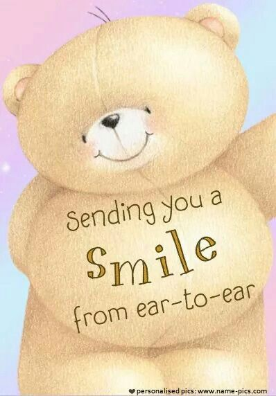 Sending you a Smile from ear-to-ear ♡ Forever Friends tjn