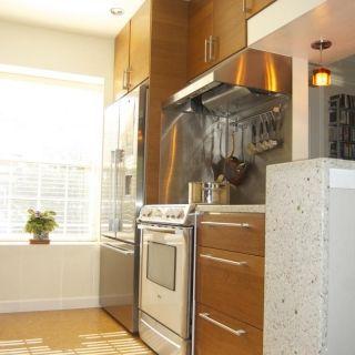 Kitchenaid Stove Kitchen Design Fridge Next To Stove