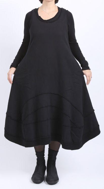 rundholz black label - Ballonkleid mit Bahnen Sweater black - Winter 2016