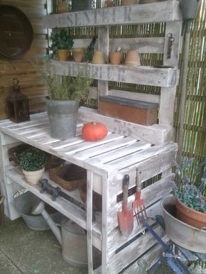 My Shed Plans - établi de jardin palette bois - Recherche Google - Now You Can Build ANY Shed In A Weekend Even If You've Zero Woodworking Experience!