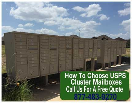 How To Choose USPS Cluster Mailboxes |