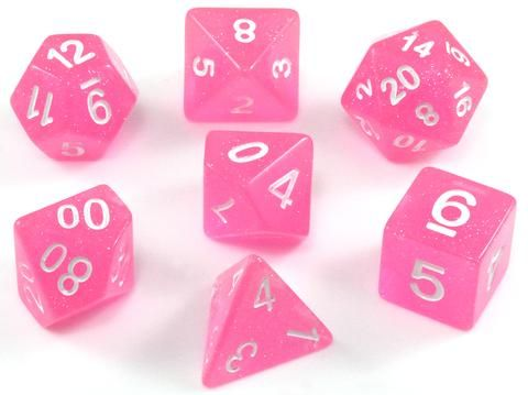 Who says RPG dice can't be pretty in pink? With Eclipse Dice (Pure Pink) you...