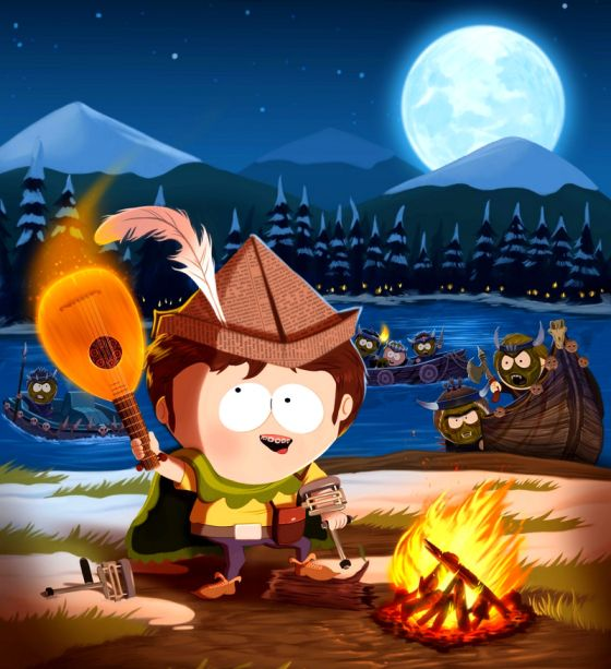 Artwork Artistique South Park Jimmy The Bard  More here! http://lamaisonmusee.wordpress.com/