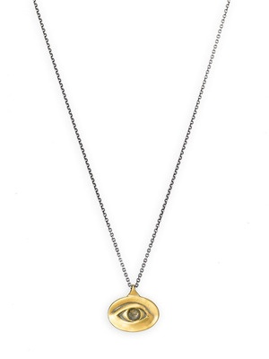 Jeanine Payer Lover's Eye Two-Tone Necklace