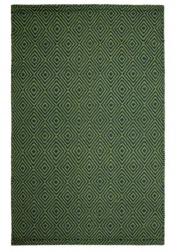New Ashford U2013 Denim Green | Hook And Loom Rug Company #freeshipping #eco #