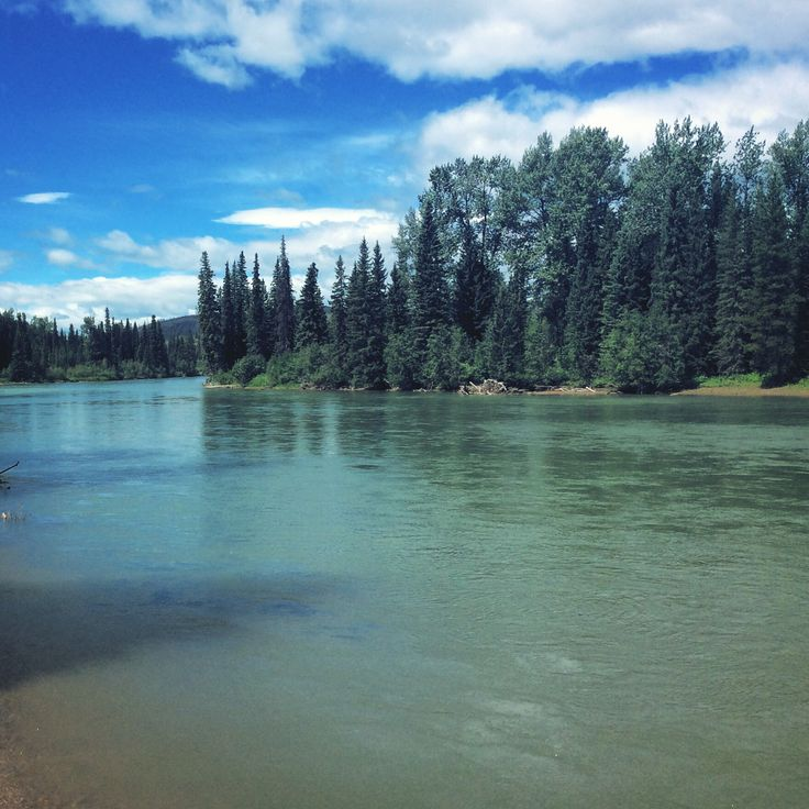 The Morice River is turning nice colour and looking great for paddling ! #houstonbc #houstonhikers #moriceriver