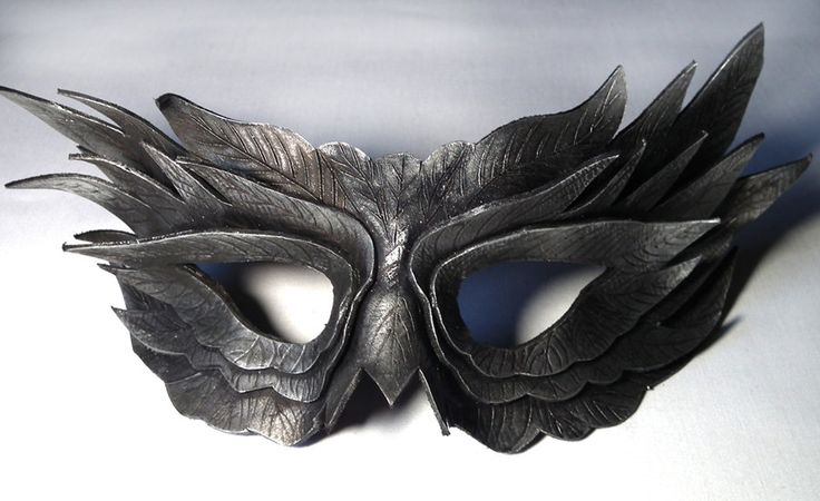 deviantART: More Like Raven Mask by ~Shadows-Ink