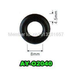 79.59$  Watch here - http://alihjx.worldwells.pw/go.php?t=32343448294 - 1000pieces/set  8*4.5mm  fuel injector repair parts of  rubber seals viton o rings  for AY-O2040 79.59$
