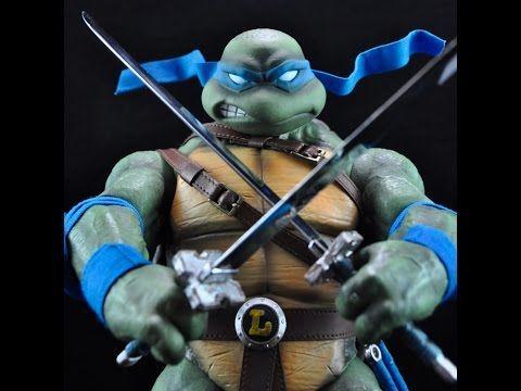 Electrified Porcupine - Toys, Collectibles, Action Figures, Music, WWE, and More!: Teenage Mutant Ninja Turtles Leonardo Sixth Scale ...