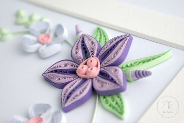 quilling flowers quilled framed picture handmade advanced