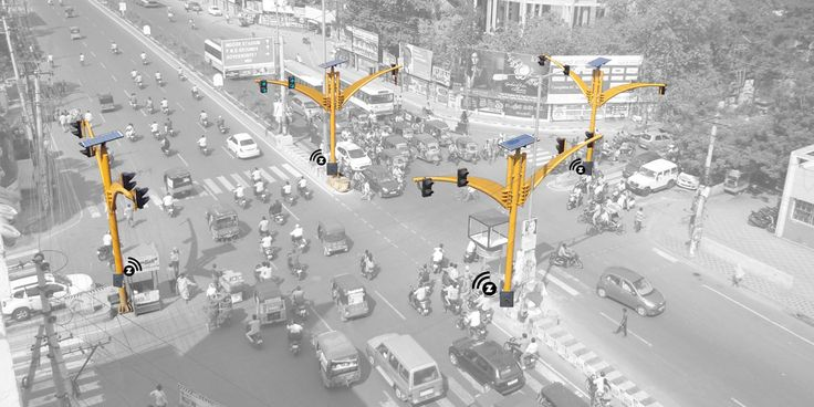 #Wireless #TrafficManagement System (WTMS) is an eco-friendly, #SolarPower  wireless system for effective #TrafficControl.