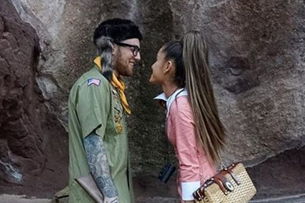 "Ariana Grande And Mac Miller Do ""Moonrise Kingdom"" And It's Total Relationship Goals"