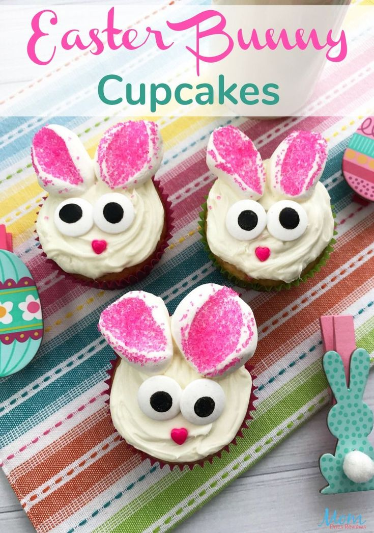 Easter Bunny Cupcakes #easter #cupcakes #desserts #food #foodie #fun   – keto cupcakes