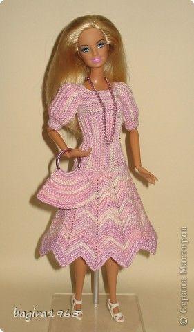 Crochet Pattern Central Barbie Clothes : 17 Best images about Barbie on Pinterest Crochet barbie ...