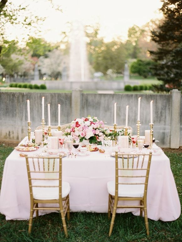 435 best centerpieces tablescapes images on pinterest raspberry gold wedding inspiration junglespirit Image collections
