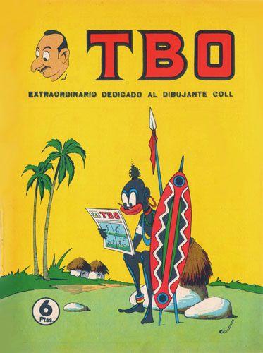 Josep Coll (1923 -Barcelona, 1984)  genio de la historieta y humor gráfico que contribuyó notablemente a la revista TBO.