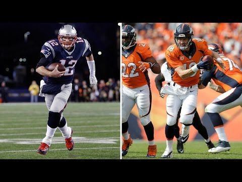 Tom Brady vs. Peyton Manning: In Feats of Athleticism! | X's & O's Film Breakdown | NFL - YouTube