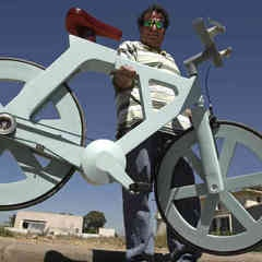 """After capturing the imagination of people around the world last year with video of a bicycle made almost entirely out of cardboard, Cardboard Technologies is launching a Kickstarter campaign that offers """"limited and exclusive access"""" to those interested in getting one of the bikes."""