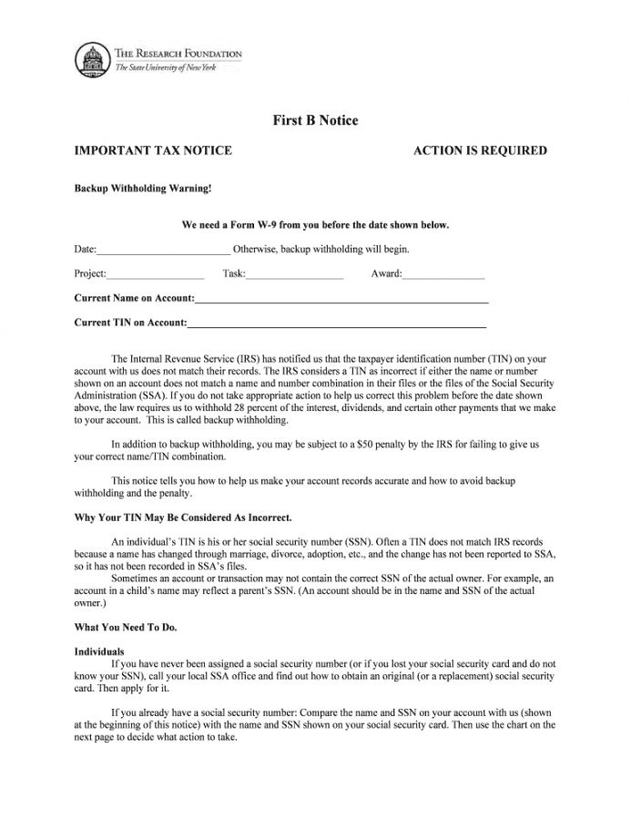 Explore Our Free Irs First B Notice Template Notice Template Templates Being A Landlord