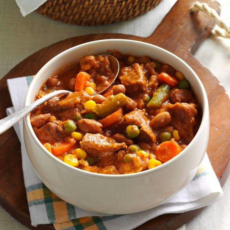 Zesty beef stew
